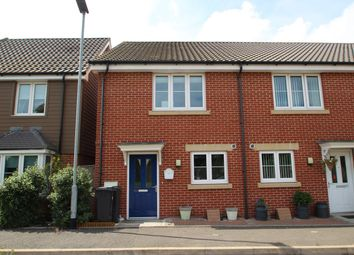 Thumbnail 2 bed end terrace house for sale in Masons Drive, Great Blakenham, Ipswich