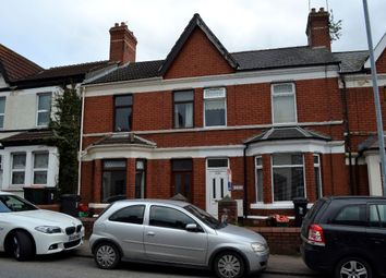 Thumbnail 3 bed terraced house for sale in Caerleon Road, Newport