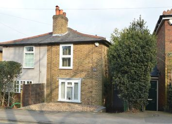 Thumbnail 3 bed cottage for sale in Heath Road, Weybridge, Surrey