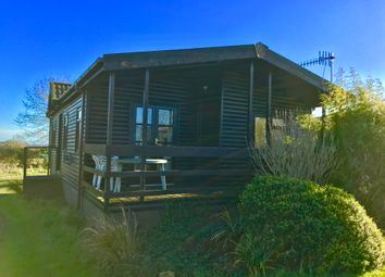 Thumbnail 2 bed mobile/park home for sale in Twin Lodge, Sherborne Causeway, Shaftesbury, Dorset