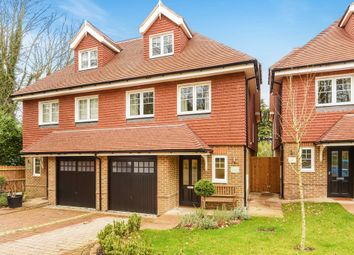 Thumbnail 3 bed semi-detached house for sale in The Windmills, Leatherhead, Surrey