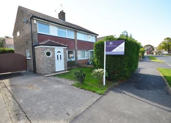 Thumbnail 3 bed semi-detached house for sale in Birkdale Drive, Moortown, Leeds, West Yorkshire