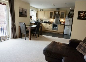 Thumbnail 2 bed flat for sale in Manor Gardens Close, Loughborough