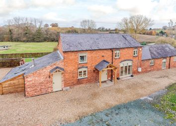 Thumbnail 4 bed barn conversion for sale in Overton Road, Penley, Wrexham