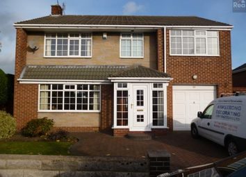 Thumbnail 4 bed detached house to rent in Northumberland Avenue, Bishop Auckland