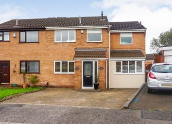 Thumbnail 4 bed semi-detached house for sale in Churchfield, Wigan