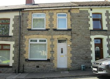 Thumbnail 3 bed terraced house for sale in Moorland Road, Bargoed
