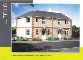 Thumbnail 3 bedroom semi-detached house for sale in Tirydderwen, Cross Hands, Llanelli