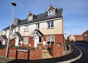 Thumbnail 4 bed end terrace house for sale in Wheat Field Lane, Cranbrook, Exeter