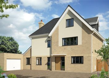Thumbnail 5 bed detached house for sale in Gazeley Road, Trumpington, Cambridge