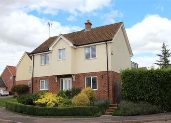 Thumbnail 3 bed detached house for sale in Brocks Mead, Great Easton, Dunmow, Essex