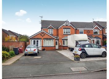 Thumbnail 4 bed detached house for sale in Cheswardine Road, Newcastle