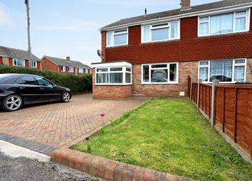Thumbnail 3 bed semi-detached house for sale in Knights Crescent, Newent