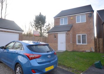 Thumbnail 3 bed detached house for sale in Hedley Close, New Kyo, Stanley, County Durham