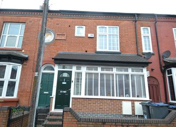Thumbnail 4 bed terraced house for sale in Dolphin Road, Sparkhill, Birmingham