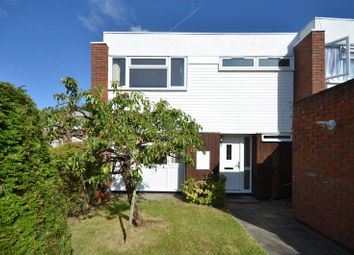 Thumbnail 3 bedroom end terrace house to rent in Madeira Close, West Byfleet
