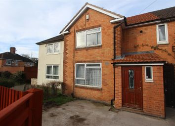 Thumbnail 3 bed town house for sale in Heyford Road, Leicester