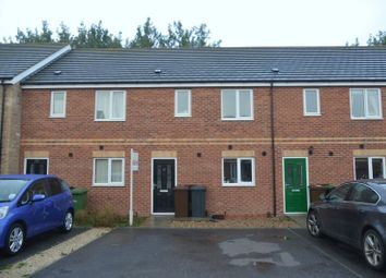 Thumbnail 3 bed terraced house to rent in Cherry Blossom Court, Doddington Park, Lincoln
