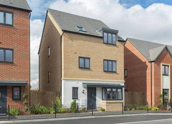 "Thumbnail 5 bedroom semi-detached house for sale in ""The Harrogate"" at Westlake Avenue, Hampton Vale, Peterborough"