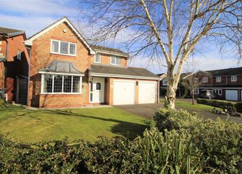Thumbnail 4 bed detached house for sale in Cornfield, Cottam, Preston