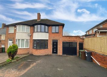 3 bed semi-detached house for sale in Eden Road, Solihull, Solihull B92