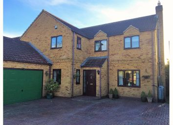 Thumbnail 4 bed detached house for sale in Swinstead Road, Corby Glen