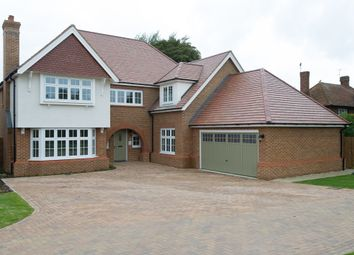 Thumbnail 5 bedroom detached house for sale in Weston Grove, New Road, Weston Turville, Aylesbury