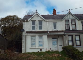 Thumbnail Semi-detached house to rent in Capel Seion Road, Drefach, Llanelli