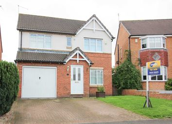 Thumbnail 4 bed detached house for sale in Glazebury Way, Northburn Manor, Cramlington