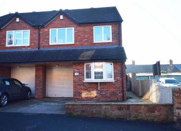 Thumbnail 3 bed semi-detached house for sale in Lockwood Street, Baddeley Green, Stoke-On-Trent
