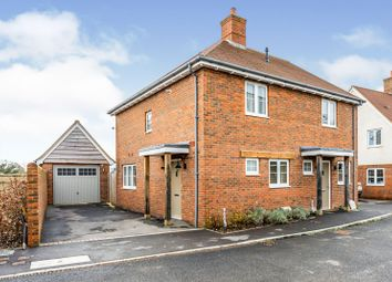 Thumbnail 2 bed semi-detached house for sale in Bargain Close, Nursling, Southampton