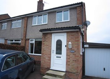 Thumbnail 3 bed semi-detached house for sale in Hall Park Rise, Horsforth, Leeds