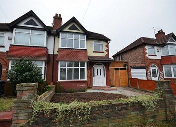 Thumbnail 3 bedroom semi-detached house to rent in Talbot Road, Fallowfield, Manchester, Greater Manchester