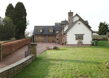 Thumbnail 5 bedroom detached house for sale in With 1 Bed Apartment/Annex, The Common, Woolaston, Lydney, Gloucestershire.