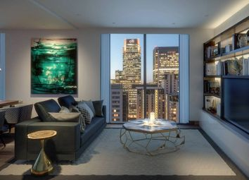 Thumbnail 1 bedroom flat for sale in Maine Tower, Harbour Central, Canary Wharf, London