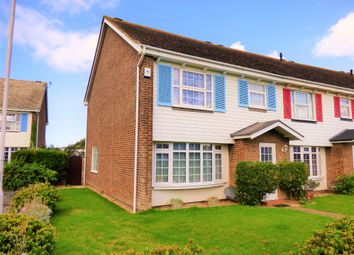 Thumbnail 3 bed end terrace house to rent in The Martlets, Rustington, Littlehampton