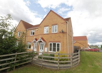 Thumbnail 3 bed town house for sale in Comrades Place, Goldthorpe, Rotherham