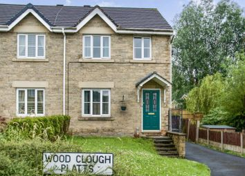 Thumbnail 3 bedroom semi-detached house for sale in Wood Clough Platts, Brierfield, Nelson