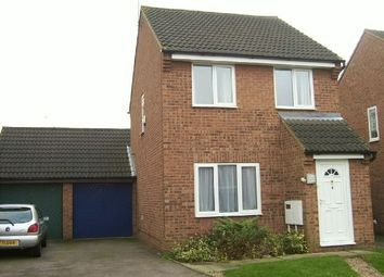 Thumbnail 3 bedroom detached house to rent in Rockcroft, East Hunsbury, Northampton