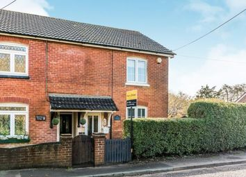 Thumbnail 2 bed semi-detached house for sale in Station Road, Nursling, Southampton
