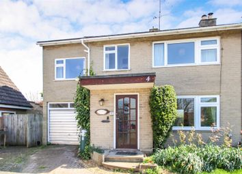 Thumbnail 4 bed semi-detached house for sale in Hale Close, Melbourn, Royston