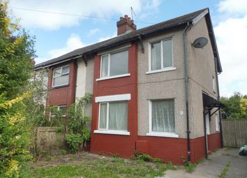 Thumbnail 3 bed semi-detached house for sale in Tweedsmuir Road, Splott, Cardiff