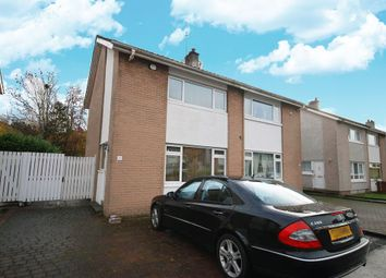 Thumbnail 2 bed semi-detached house for sale in 121 Fleurs Avenue, Dumbreck, Glasgow