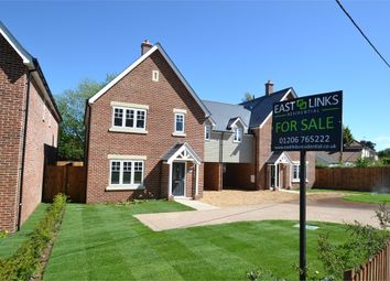 Thumbnail 4 bed semi-detached house for sale in Warren Lane, Stanway, Colchester, Essex