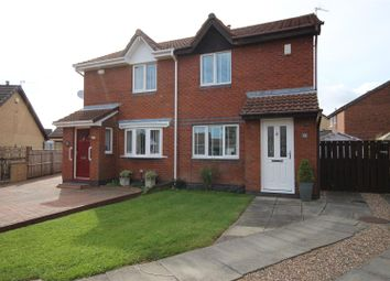Thumbnail 2 bed semi-detached house for sale in Berkeley Close, Boldon Colliery