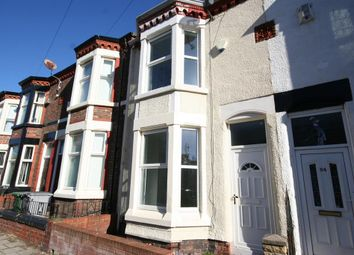 Thumbnail 3 bed terraced house for sale in Lea Road, Wallasey