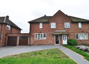 Thumbnail 3 bed semi-detached house to rent in Green Meadow Road, Northfield, Birmingham