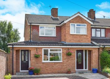 Thumbnail 3 bed semi-detached house for sale in Williams Close, Hanslope, Milton Keynes
