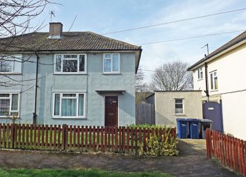Thumbnail 3 bedroom semi-detached house for sale in Keynes Road, Cambridge, Cambridgeshire