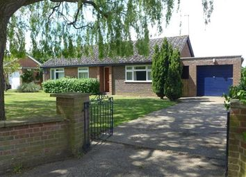 Thumbnail 3 bedroom detached bungalow to rent in The Street, Herringswell, Bury St. Edmunds